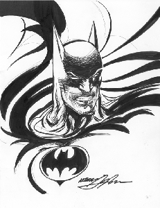 Batman - Snarling