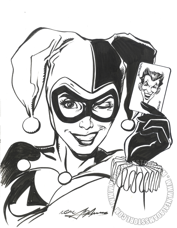 Sold Harley Quinn Bust Up To No Good