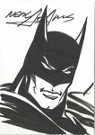 Sketchcard Batman Dark