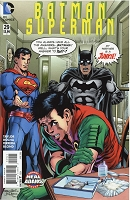 Batman Superman #29 Signed by Neal Adams