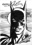 Sketchcard Batman Shadow