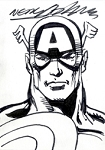 Sketchcard Captain America