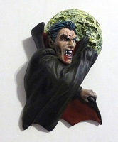 Dracula Refrigerator Magnet - Hand Painted