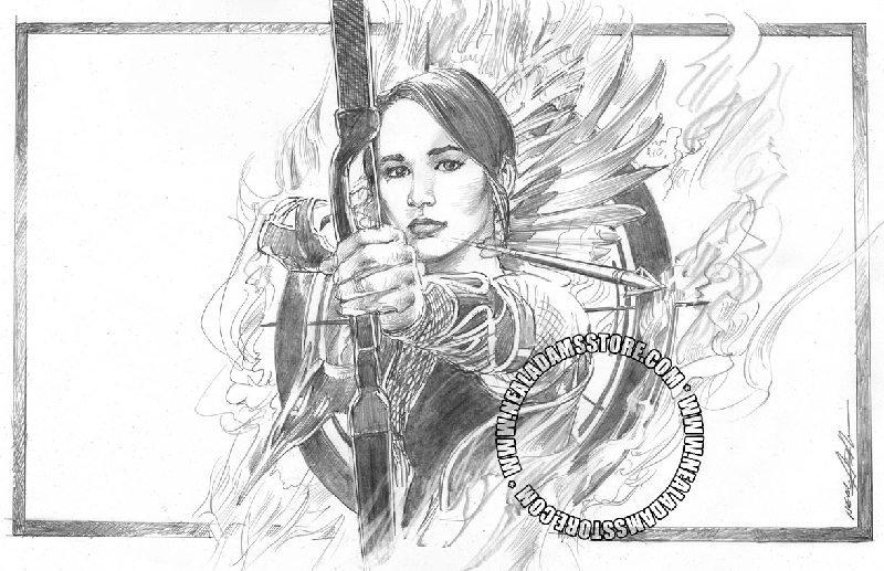hunger games printable coloring pages | Hunger Games Katniss Coloring Coloring Pages