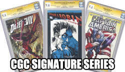 CGC Signature Series Comics