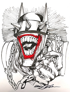 Batman Who Laughs - Sketch 2