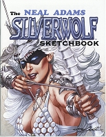 The Neal Adams Silverwolf Sketchbook - Signed