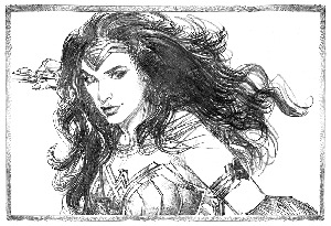 Wonder Woman Print B - Signed