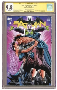 SDCC Exclusive: Batman #50 Signed  Variant A - CGC 9.8 - PRE-ORDER