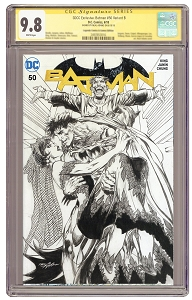 SDCC Exclusive: Batman #50 Signed  Variant B - CGC 9.8 - PRE-ORDER