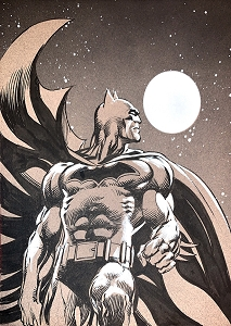 SOLD Batman - Pale Moon Light