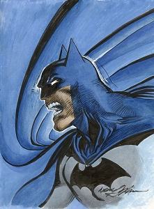 Batman - Rage - Original Art