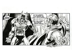 RAS! Famous Panel Re-Creation from Batman #244