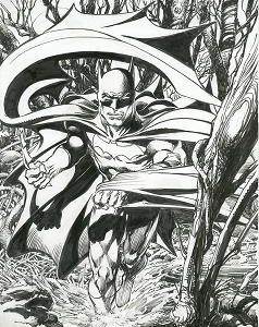 Batman - Mystery in the Swamp - Original Art