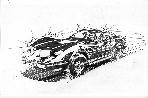 The Batmobile -Neal Adams Version (Odyssey)