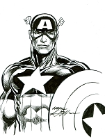 Captain America - Bold Leader