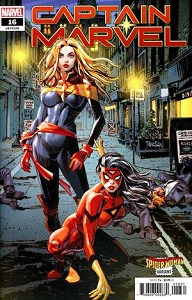 CAPTAIN MARVEL #16 PANOSIAN SPIDER-WOMAN VAR