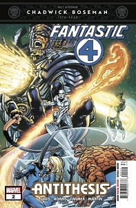 Fantastic Four Issue 2 of 4 signed