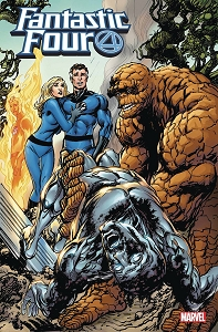 Fantastic Four Issue 1 of 4 signed