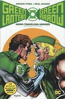 SIGNED - Green Lantern/Green Arrow: Hard Travelin' Heroes Deluxe Edition Hardcover