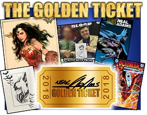 The Golden Ticket - Convention Offer