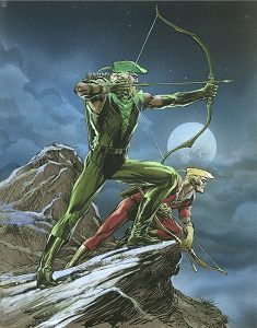 SOLD Night Hunt - Green Arrow and Speedy