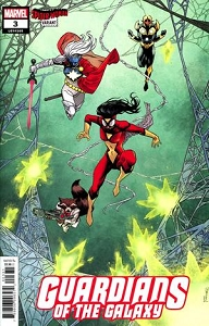 GUARDIANS OF THE GALAXY #3 SHALVEY SPIDER-WOMAN VA