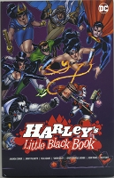 Harley's Little Black Book Hard Cover - Signed & Remarked by Neal Adams