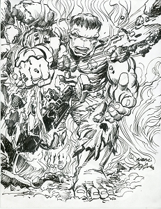 Hulk - Smash! Original Art