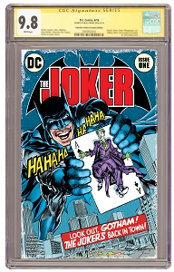 The Joker #1 State of Comics Variant - Signature  Series 9.8 - PRE ORDER