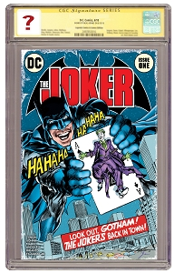 The Joker #1 State of Comics Variant - Signature  Series Grade unknown - PRE ORDER