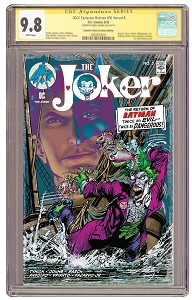 The Joker #3 State of Comics Variant - Signature  Series 9.8 - PRE ORDER