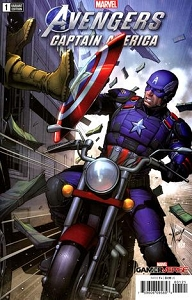 MARVELS AVENGERS CAPTAIN AMERICA #1 KEOWN VAR