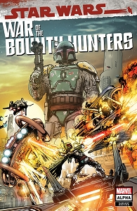 Pre-Order Excusive! Star Wars: War of the Bounty Hunters #1 Trade Cover Signed