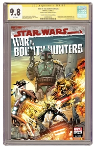 Pre-Order Excusive! Star Wars: War of the Bounty Hunters #1 Trade Cover Signed and CGCed 9.8 Guarantee