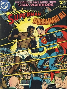 Superman VS Muhammad Ali  - Original printing - Signed