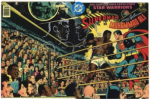 Superman VS Muhammad Ali  - Original printing - Signed and Sketched