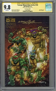 Teenage Mutant Ninja Turtles #100 Neal Adams Variant CGC 9.8