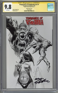 Vengeance of Vampirella Vol 2 #1 Neal Adams Variant CGC 9.8