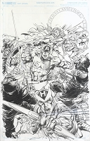 The Avengers 2.1 Cover Original Art