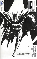 Adams Sketch Batman Dark Knight III Blank Cover with Sketch Adams Style 8