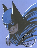 Batman Blue Color Bust