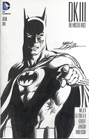 Adams Sketch Batman Dark Knight III Blank Cover with Sketch Adams Style 1