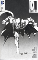 Adams Sketch Batman Dark Knight III Blank Cover with Sketch Adams Style 2