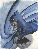 Batman 2 Water Color
