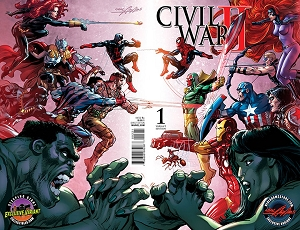 Civil War II - Cover by Neal Adams - Signed