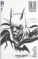 Adams Sketch Batman Dark Knight III Blank Cover with Sketch Adams Style 6