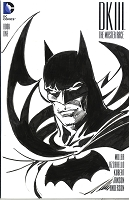Adams Sketch Batman Dark Knight III Blank Cover with Sketch 3