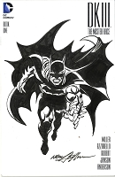 Adams Sketch Batman Dark Knight III Blank Cover with Sketch 2