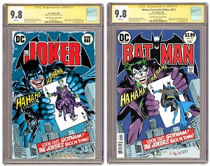 The Joker #1 State of Comics Variant and Batman 251 CGC 9.8 Facsimile Special PRE-ORDER